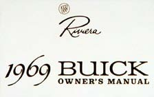 Owners Manual 1969 Buick Riviera