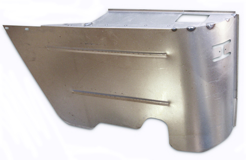 Arm Rest Panel 1964-67 Rear Lower Left