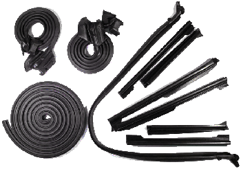 Weatherstrip Kit 1968 Buick Cnv Basic