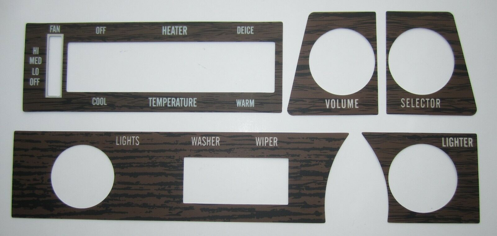 Woodgrain Dash Kit 1970-72 Buick Backlit