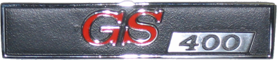 Dash Monogram 1967 GS 400