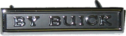 Decklid Monogram 1971 <B>By Buick</B>