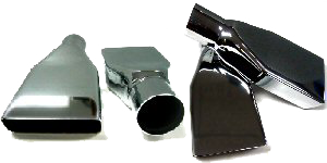 N-25 Bumper Exhaust Extensions 1970-72