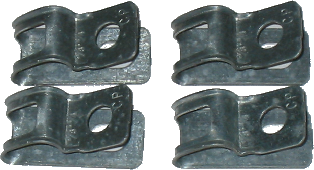 Fuel Line Clip Set 1971-72 Buick