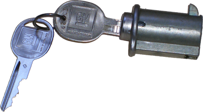 Glove Box Lock 1965-67 Buick Late Style