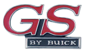 Grill Emblem 1970 <B>GS by Buick</B>