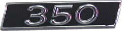 Quarter Panel Monogram 1967 Buick 350