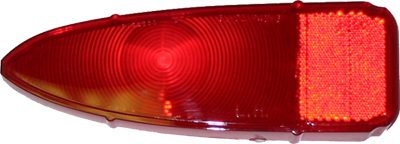 Tail Lamp Lens 1961 Buick Special LH