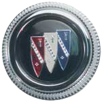 Wheel Cap 1968-70 Buick Tri-Shield (1)