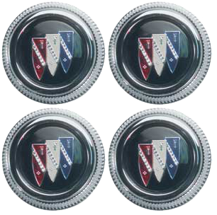 Wheel Cap 1967-70 Buick Tri-Shield (4)