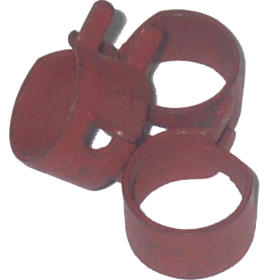 "Hose Clamp, Spring Action 1/2"" ID"