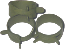"Hose Clamp, Spring Action 5/8"" ID (10)"
