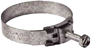 "Hose Clamp 2-1/4"" Wittek Tower Top"