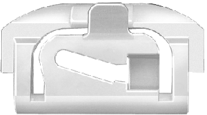 Molding Clip 1973-87 Windshield/Backglas