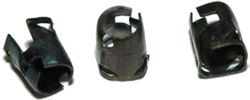 "Tubular Nut 3/16"" Stud 7/32\"" Hole (25)"