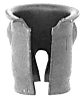 "Tubular Nut - 1/4"" Stud - 25 Pack"