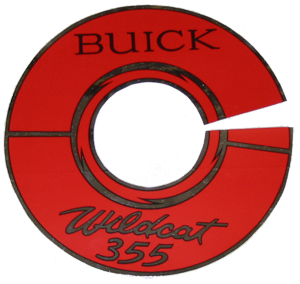 Air Cleaner Decal 1964-65 Wildcat 355