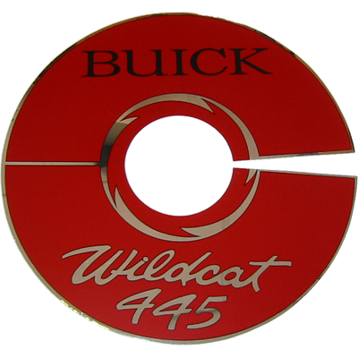 Air Cleaner Decal 1965-66 Wildcat 445
