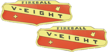 Valve Cover Decal 1953-55