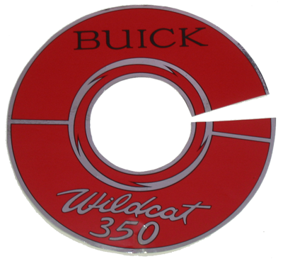 Air Cleaner Decal 1966 Buick LeSabre 340