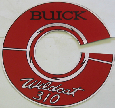 Air Cleaner Decal 1964-66 - Wildcat 310
