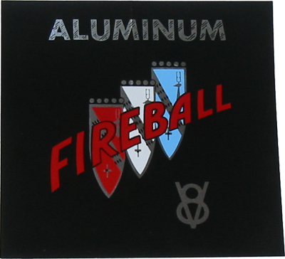 Air Cleaner Decal 1961-63 - Fireball V8