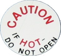 Radiator Cap Decal 1968-69