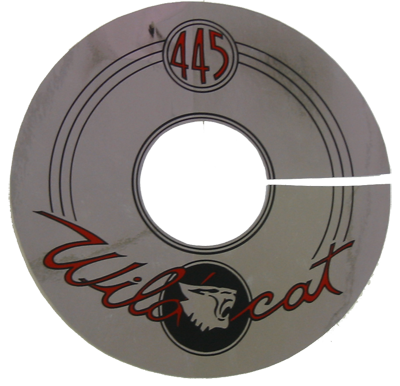 Air Cleaner Decal 1962-63 Buick 401