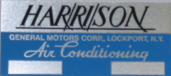 A/C Box Decal Harrison (Blank)