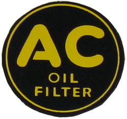 Oil Filter Decal 1946-48 Buick