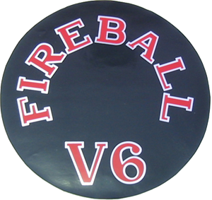 Air Cleaner Decal 1962-65 Fireball V6