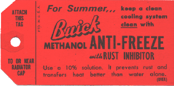 Antifreeze Tag 1936-60