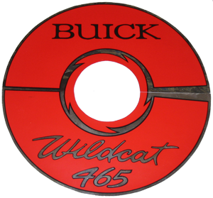 Air Cleaner Decal 1964/1966 Buick 425