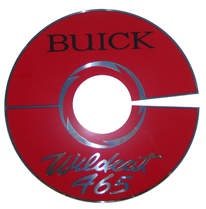 Air Cleaner Decal 1964-66 Buick 425