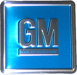 GM Decal 1966-67 - GM Mark of Excellence