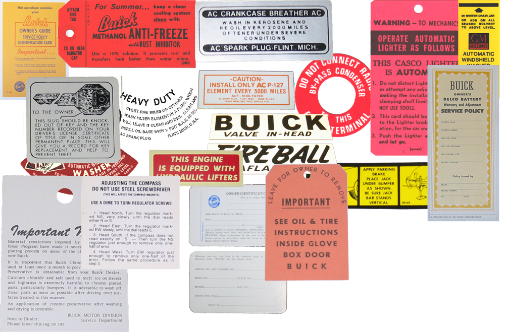 1948 Decal Set Buick