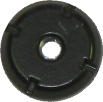 Antenna Nut, Fixed - Black 1982-87