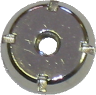 Antenna Nut, Fixed - Chrome 1982-87