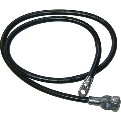 Battery Cable 1971-75 Positive Black