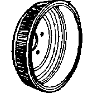 Brake Drum 1961-64 Buick Rear