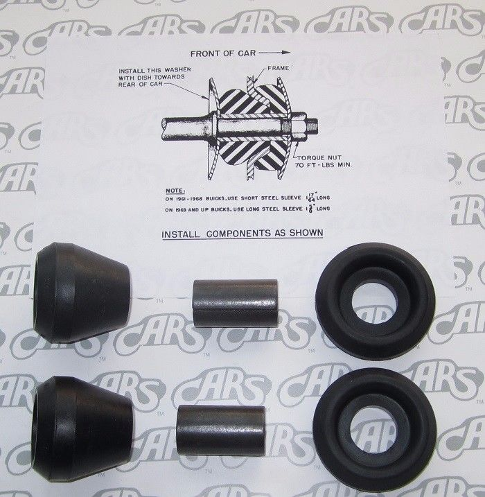 Brake Reaction Rod Kit 1969-70 Buick