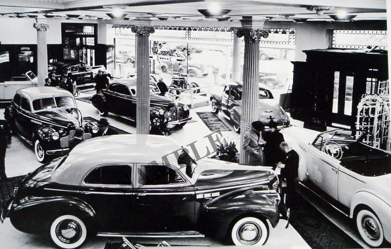 1940 Buick Dealer Shrowroom