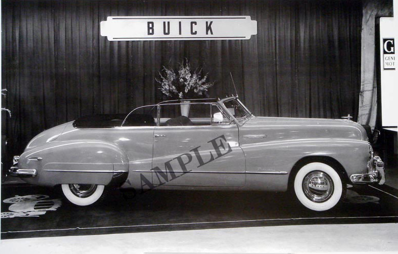 1947-48 Buick Convertible In Showroom