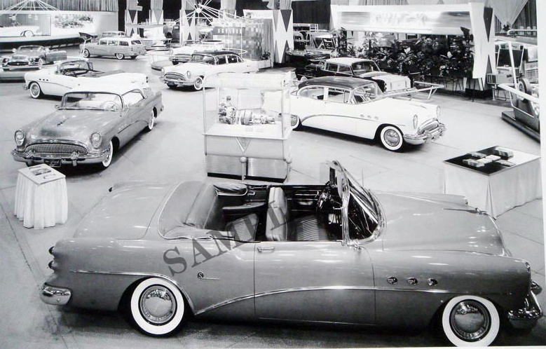 1954 Buick Motorama Display