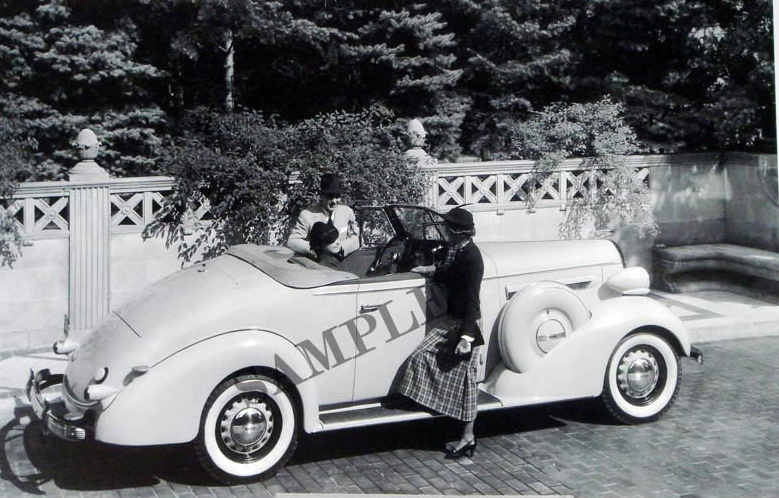 1936 Buick Convertible With Rumble Seat