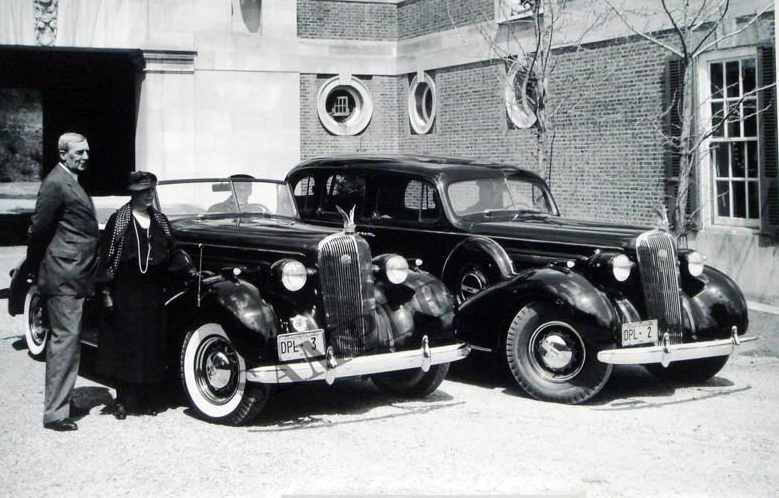 1936 Buick Convertible & 4-Door Sedan