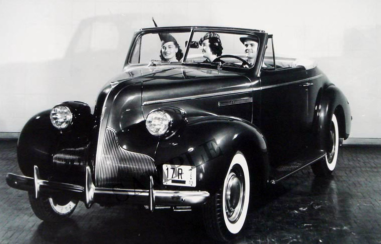 1939 Buick Convertible 2-Door