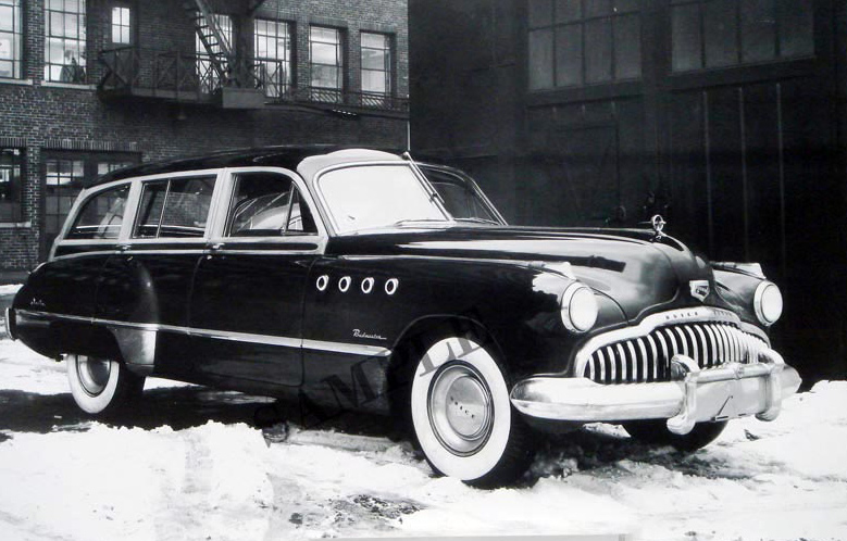 1949 Buick Roadmaster 2-Door Wagon