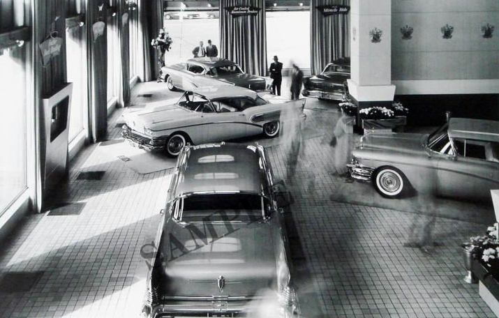 1958 Buick Dealer Shrowroom