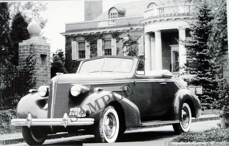 1937 Buick Special Convertible Coupe